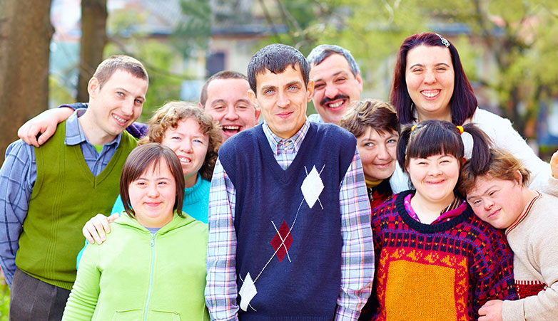 Group enjoying company | Family Relief Program | Simcoe Community Services