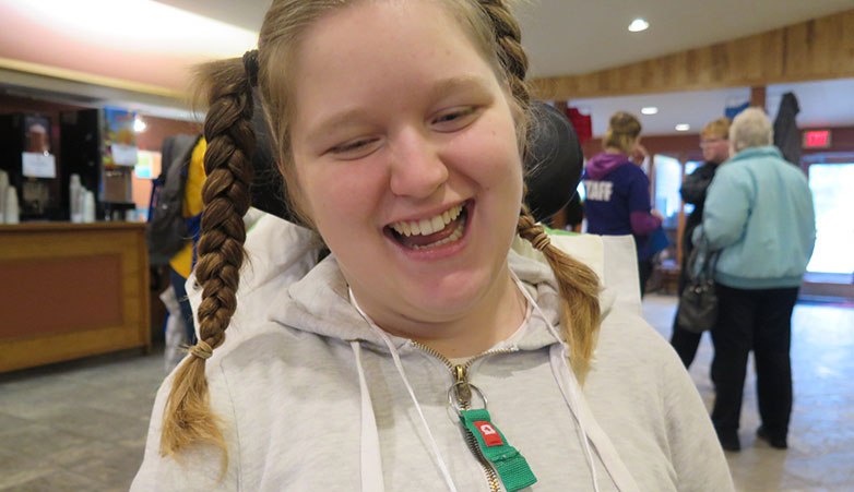 Young Woman Smiling | Youth Retreat | Youth Programs | Empower Simcoe