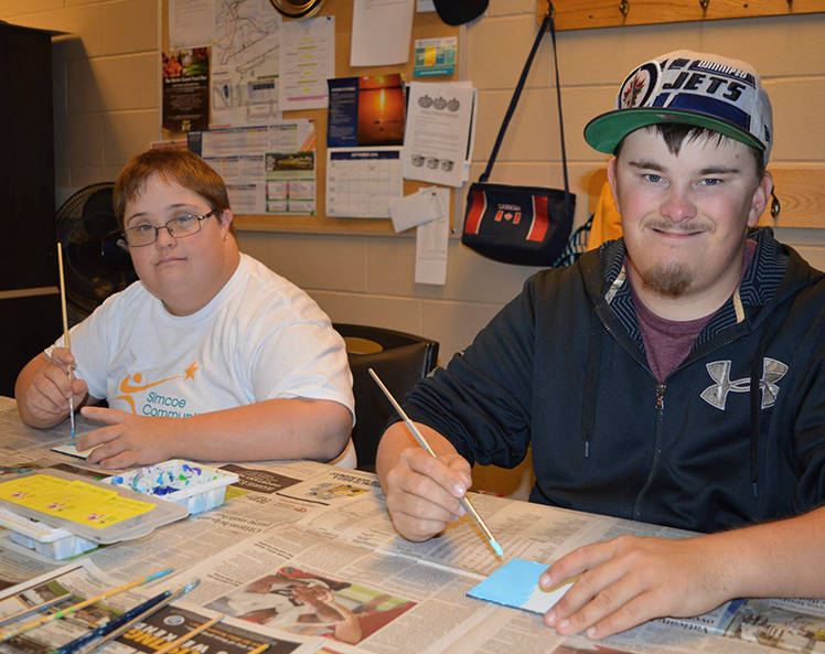 people working with simcoe community services