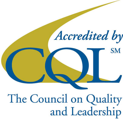 The Council on Quality and Leadership Logo | Simcoe Community Services