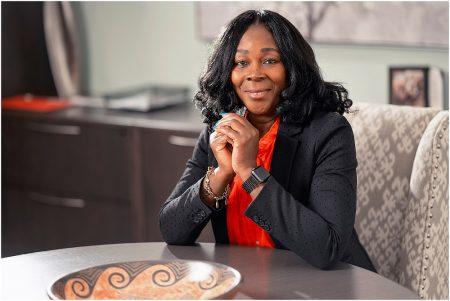 CEO Claudine Cousins