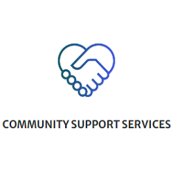 Community Support Services - Heart Shaped Handshake