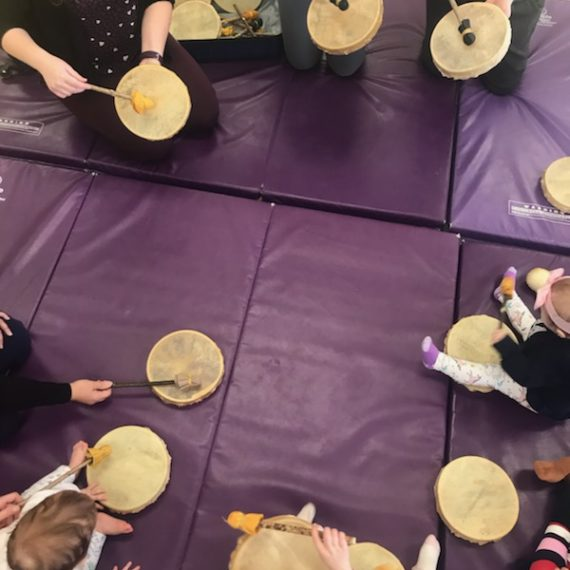 Drumming at East Bayfield 1