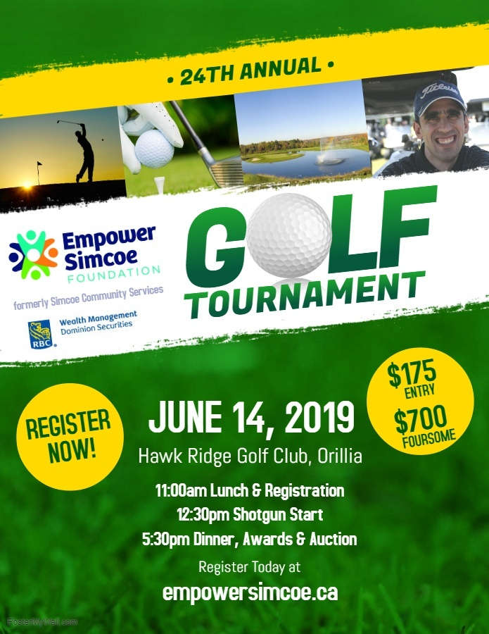 Empower Simcoe Golf Tournament