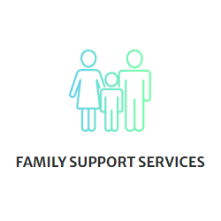Family Support Services - image of Parents and child