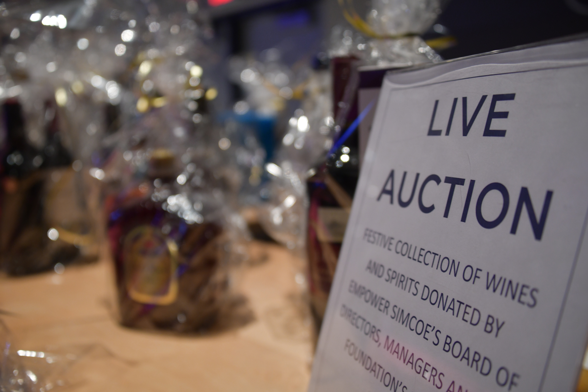 2019 Fashion Show Live Auction