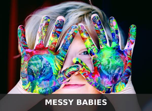 messy babies banner