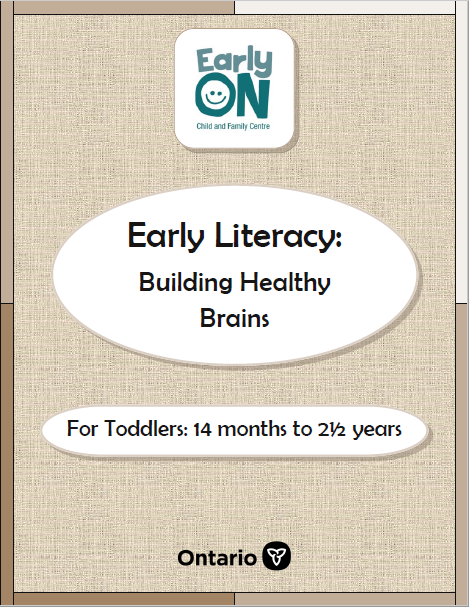 Toddler Early Literacy Booklet