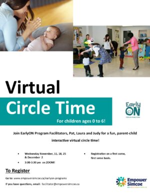Virtual Circle Time