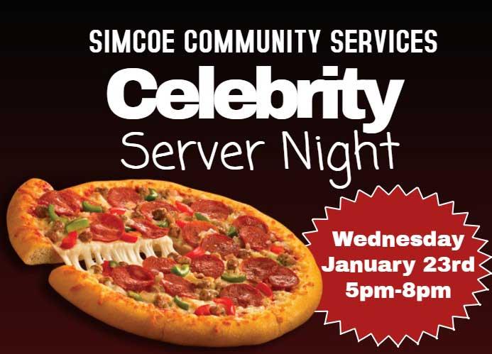Celebrity Pizza Night Boston Pizza