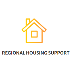 Regional Housing Support Services - Image of house clip-art