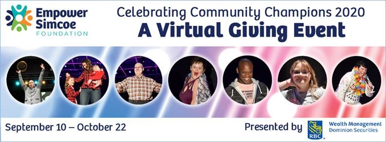 Virtual Giving Event poster