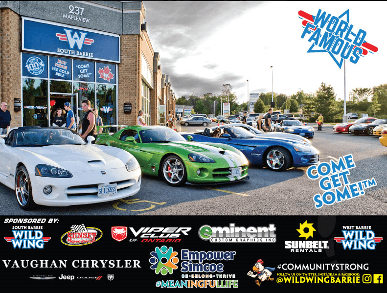 Wild wing Viper night Barrie